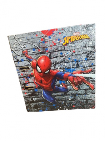 Biblioraft A4 Vision, 8cm, cu Spider-man, albastru [2]