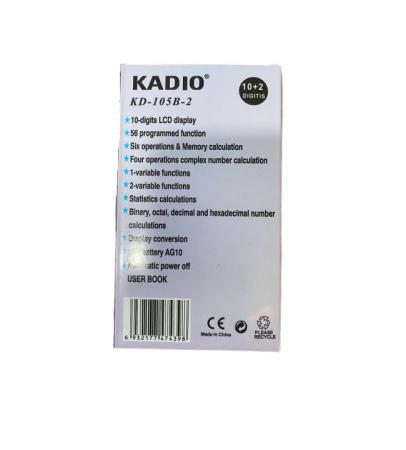 Calculator Stiintific Kadio, Vision, k9 105B-2, 12 digits [1]