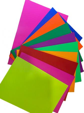 Carton color A4 Vision, 10/set, 250 gmp, 10 culori [0]