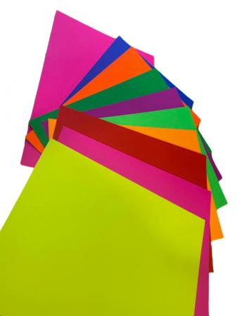 Carton color A4 Vision, 10/set, 250 gmp, 10 culori [1]
