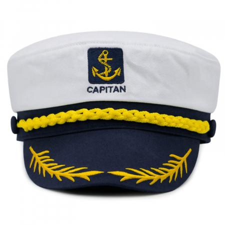 Chipiu Capitan, Vision, one size, albastru/alb [0]