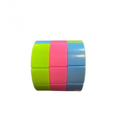 Cilindru rubik Vision, din plastic, multicolor [1]