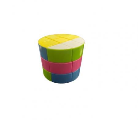 Cilindru rubik Vision, din plastic, multicolor [0]
