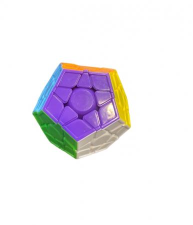Cub magic Vision, dodecaedru cu  12 fete divers colorate [1]
