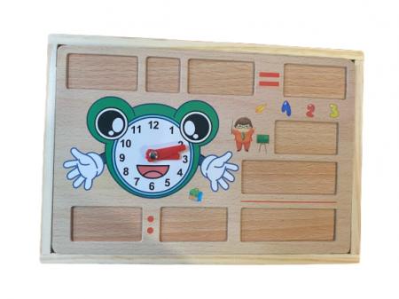 Cutie educativa multifunctionala Vision, din lemn [1]