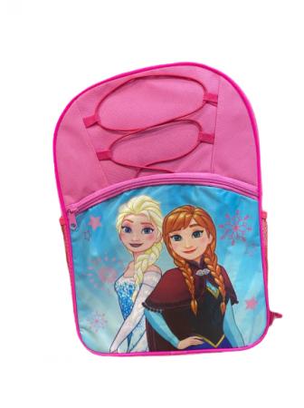 Ghiozdan pentru scoala Vision, cu Frozen, roz/albastru [0]