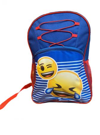 Ghizdan pentru scoala Vision, model emoji, multicolor [1]