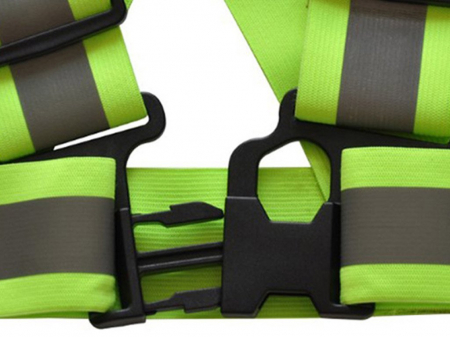 Ham reflectorizant reglabil Day and Night, Vision, material elastic, banda 4cm, verde, unisex, universal [1]