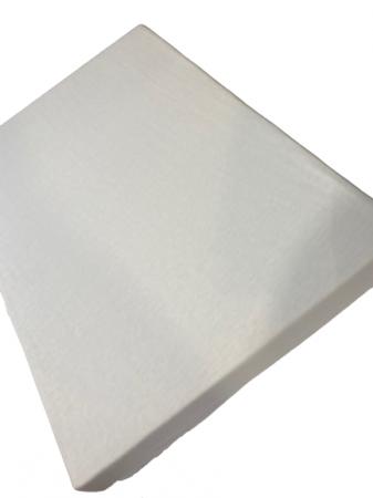 Husa saltea cu elastic - Vision, 100% bumbac, 90 x 200 cm, Alb [1]