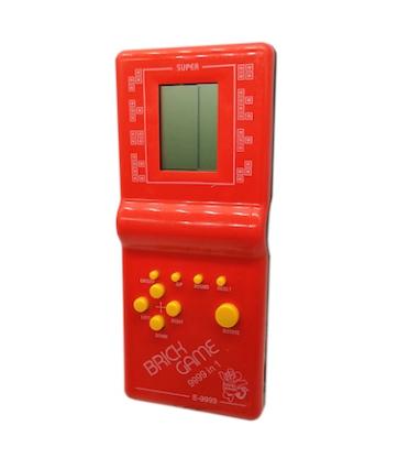 Joc clasic Tetris 9999 in 1, Brick Game, rosu, Vision® [0]