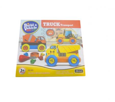 Joc de constructie Vision, 3 in 1, Truck Transport [0]
