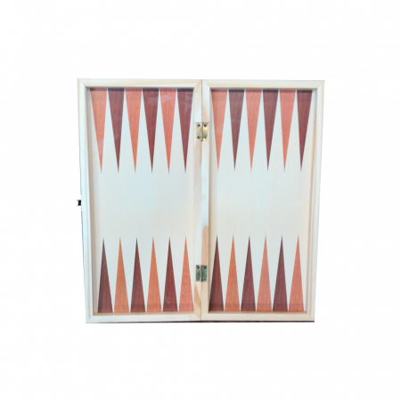 Joc de sah, table si dame- Vision, 33 x 33 cm, cutie si piese din lemn, cu toate piesele incluse [5]