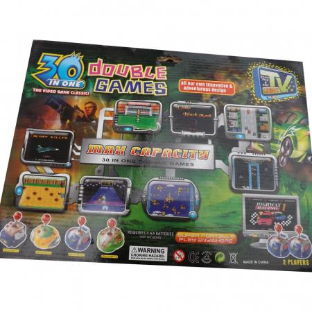 Joc TV CANHUI TOYS- Vision cu doua manete si 30 jocuri incluse [2]