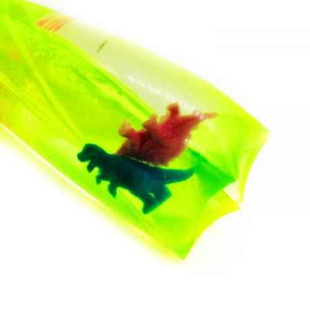 "Jucarie antistres distractiva ""Slippery Slime"", Vision, umpluta  cu slime gelatina moale si figurine, 12 cm [3]"