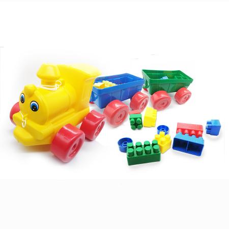 Jucarie interactiva, trenulet si cuburi lego Vision [0]