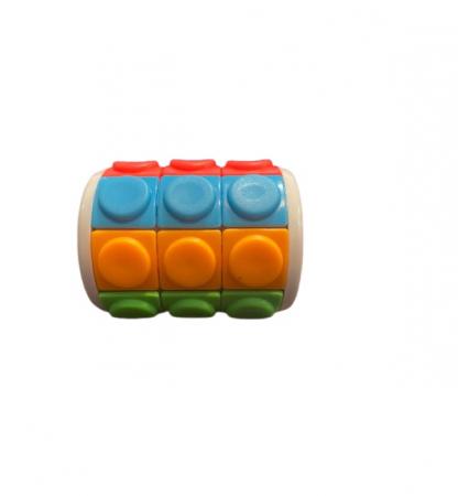 Jucarie pentru dezvoltarea inteligentei Vision, Puzzle Tower, multicolor [2]