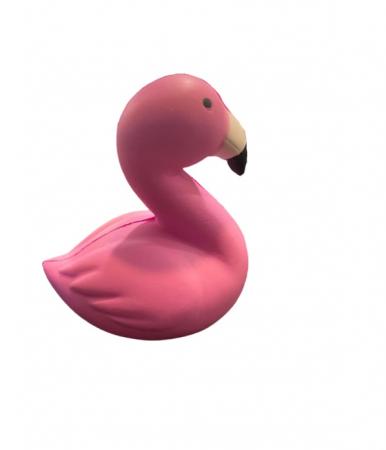 Jucarie squishy, flamingo roz- Vision [3]
