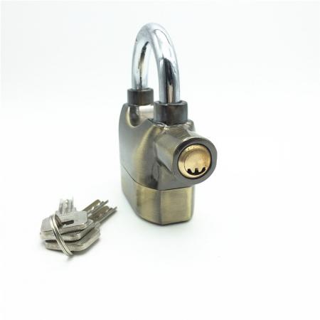 Lacat cu alarma electronica Vision, senzor de miscare, 3 chei 10 mm, 110 DB [5]