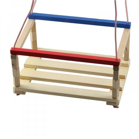 Leagan pentru copii din lemn, Vision, multicolor [2]
