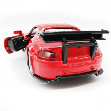 Macheta metalica Vision, BMW seria 4 Cabrio, rosu, scara 1:36 [2]