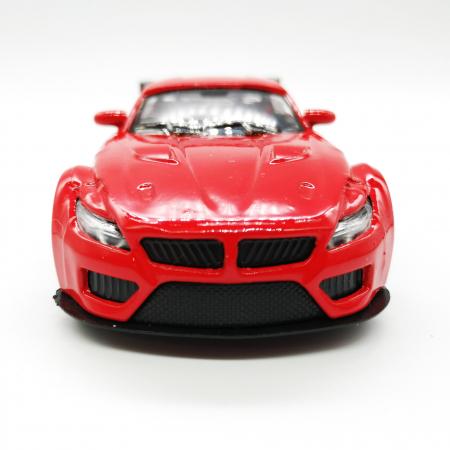 Macheta metalica Vision, BMW seria 4 Cabrio, rosu, scara 1:36 [3]