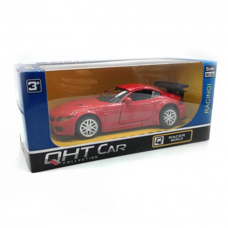 Macheta metalica Vision, BMW seria 4 Cabrio, rosu, scara 1:36 [1]