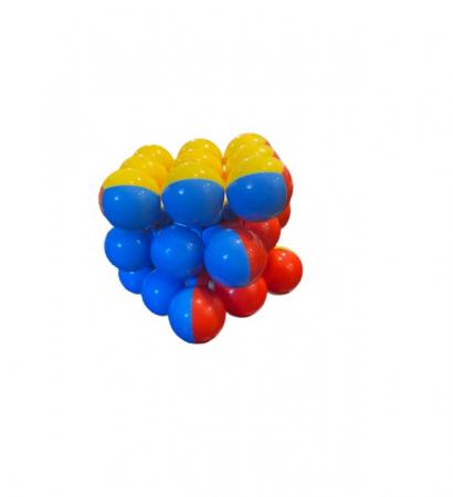 Magic cube Vision, cu  profile rotunde, multicolorate [1]