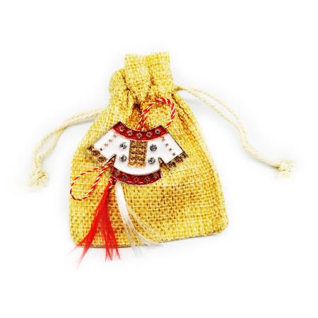 Martisor Brosa Vision, model traditional cu saculet [0]