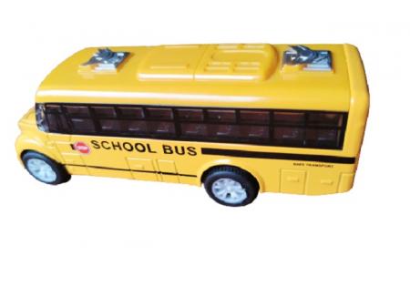 Masinuta de metal Vision, autobuz scolar, scara 1:32 [1]