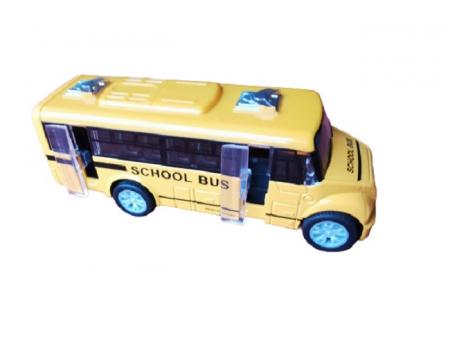 Masinuta de metal Vision, autobuz scolar, scara 1:32 [2]