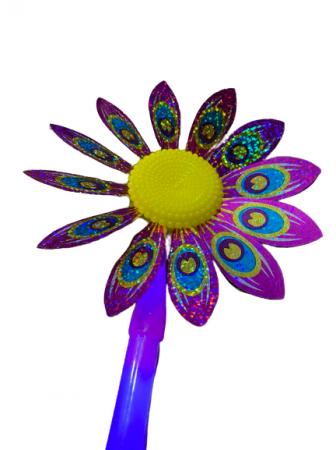 Morisca de vant cu led Vision, floare 36 de cm [2]