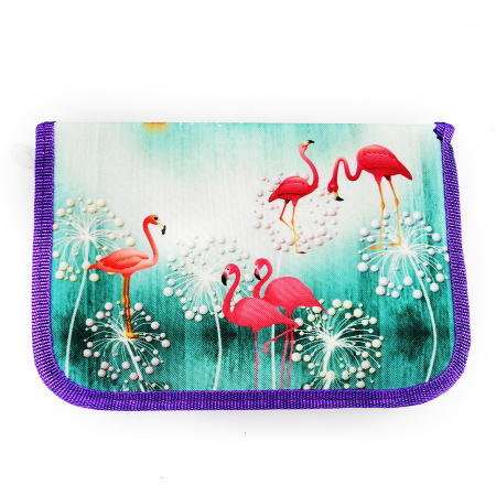 Penar echipat Vision, 1 fermoar, 2 extensii, 25 piese, Flamingo [0]