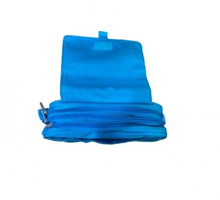 Penar Vision, tip borseta, cu  trei compartimente, albastru [2]