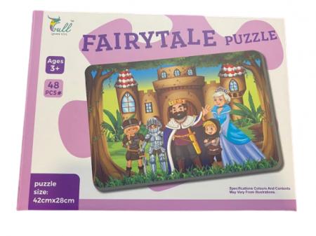 Puzzle 48 de piese, Fairytale Puzzle- Vision, 48 x 28  cm [0]