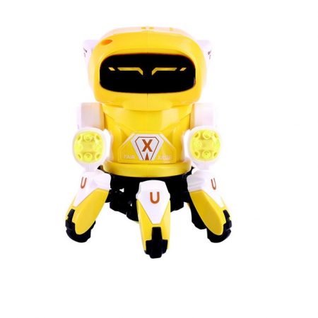 Robot Octopus Rockman danzeaza, lumineaza si canta Vision [0]