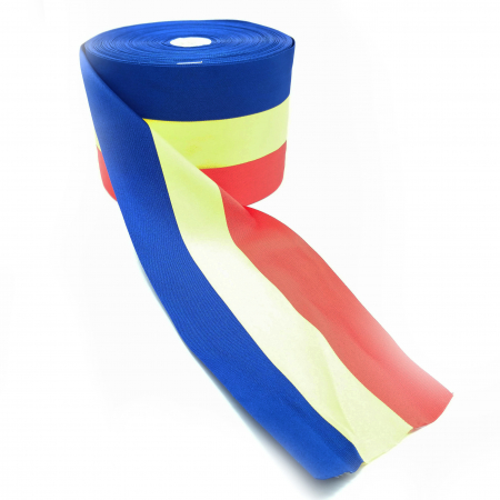 Rola de panglica tricolora latime 110 mm, lungime 50 m Vision [2]