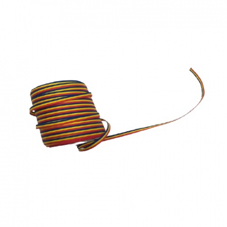 Rola de panglica tricolora latime 3mm, lungime 100m Vision [1]