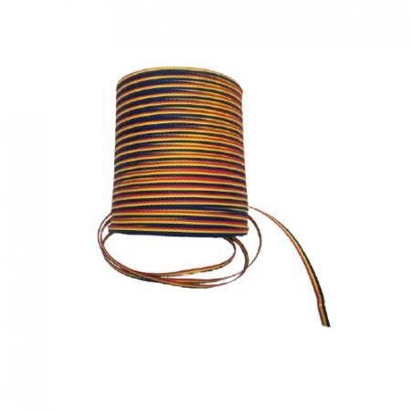 Rola de panglica tricolora latime 3mm, lungime 100m Vision [0]