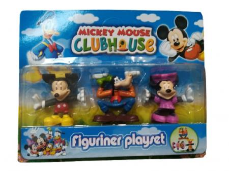 Set 3 figurine Prietenii lui Mickey Mouse, 7 cm- Vision [0]