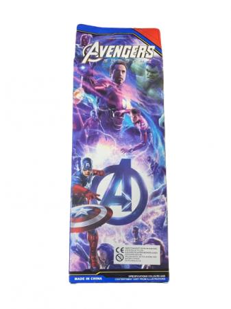 Set 4 machete de metal Vision, 8 cm, Avengers [0]