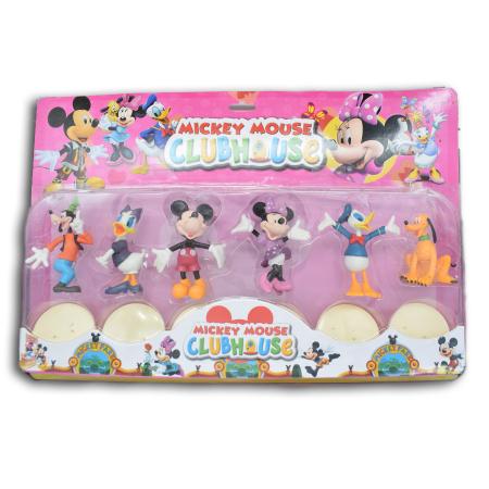 """Set 6 figurine Vision cu  Prietenii lui Mickey Mouse """"Club House"""" [0]"""