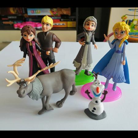 Set 6 figurine, Frozen II, 10 cm, Vision [1]
