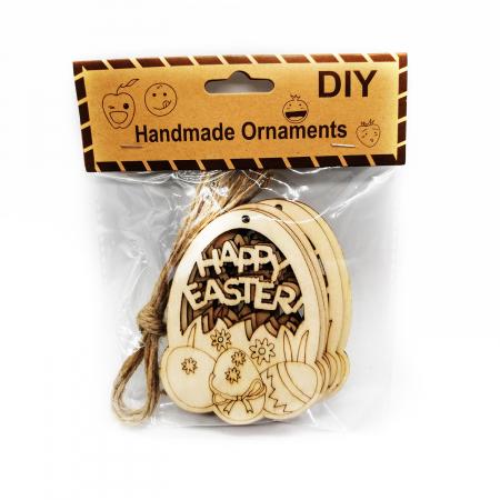 Set 6 ornamente handmade, Vision, oua de Paste [0]