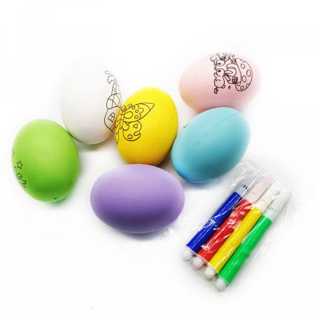 Set 6 oua de Paste Vision pentru desenat si 4 carioci [2]