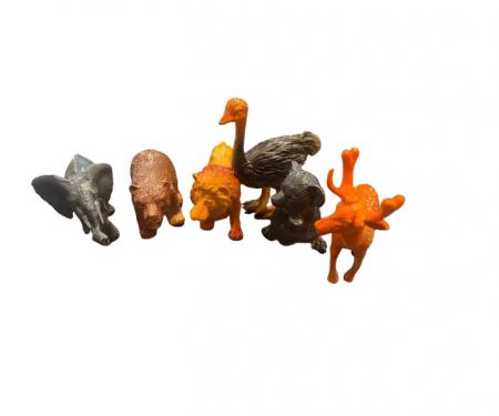 Set de 6 animale salbatice, 7 cm Vision [1]