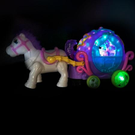 Set muzical si luminos, Vision - caleasca cu ponei [1]