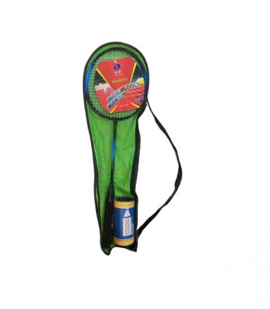 Set palete Badminton + 2 fluturasi Vision, in husa verde [0]