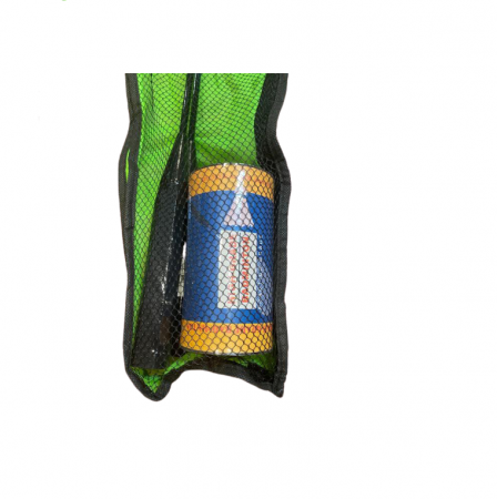 Set palete Badminton + 2 fluturasi Vision, in husa verde [2]