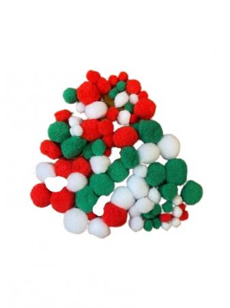 Set pompom pentru copii Vision, multicolor [1]