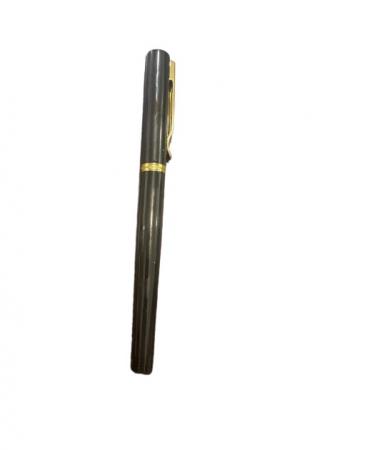 Stilou negru Vision 2841, penita ascunsa, dual, rezervor si patron [0]